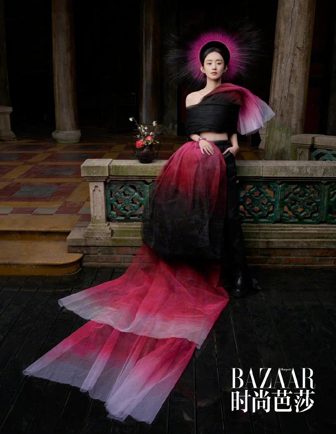 Phong cách thời trang chuẩn 'đẳng cấp quốc tế' của Triệu Lệ Dĩnh, dát Haute Couture đều như cơm bữa 5